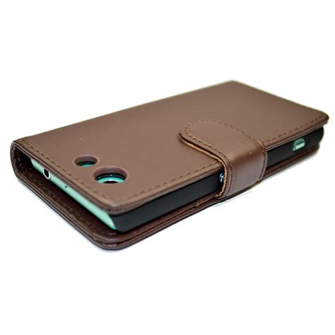 snakehive 174 premium leather wallet flip cover for sony xperia z3 compact ebay
