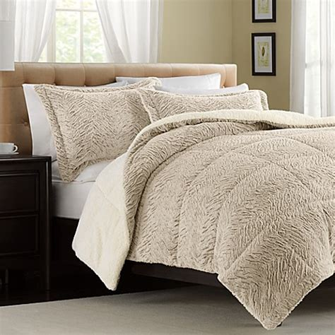 seasons collection down comforter the seasons collection 174 fur reversible down alternative