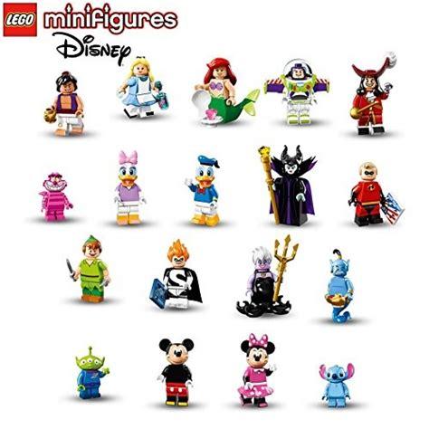 Minifigure The Disney Series complete collection of 18 lego disney series minifigures