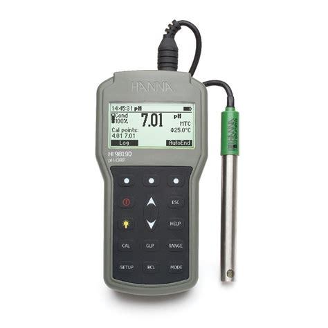 Hi 96107 Ph Meter professional waterproof portable ph orp meter hi98190 instruments