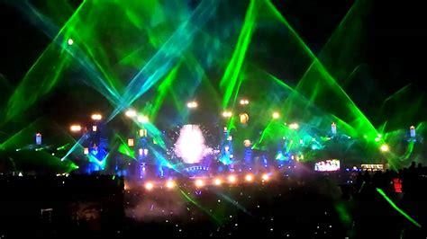 Skrillex Laser Show Tomorrowland 2012 Youtube Skrillex Lights