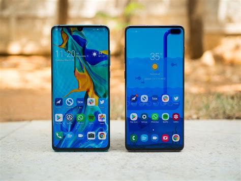 huawei vs samsung battery huawei p30 pro vs samsung galaxy s10 which should you buy android central