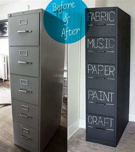 painting a file cabinet with chalk paint chalkboard paint an old filing cabinet craft ideas
