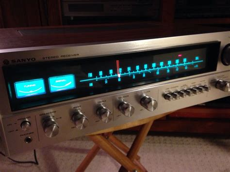 sanyo electronics vintage sanyo dcx6000k receiver mint condition and sweet