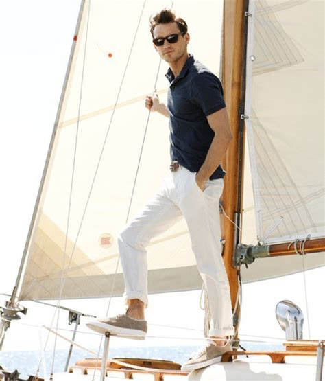 Working The Nautical Trend by Style Inspiration White Style Guide Inspiration