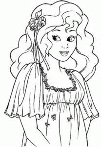 free princess coloring pages princess coloring page coloring town
