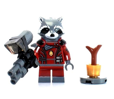 Lego Polybag Guardians Of The Galaxy Rocket Racoon Exclusive lego guardians of the galaxy rocket raccoon minifigure with weapon new ebay
