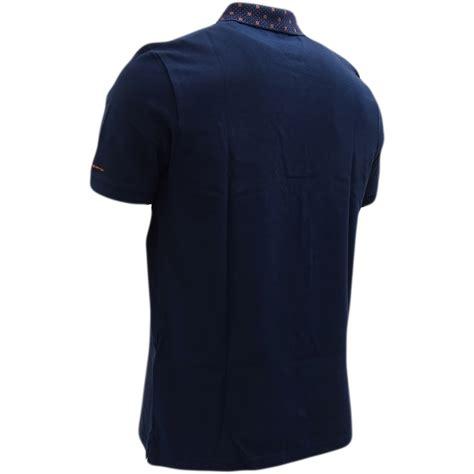 target collars ben sherman navy target collar design polo shirt 48282 ben sherman mr h menswear
