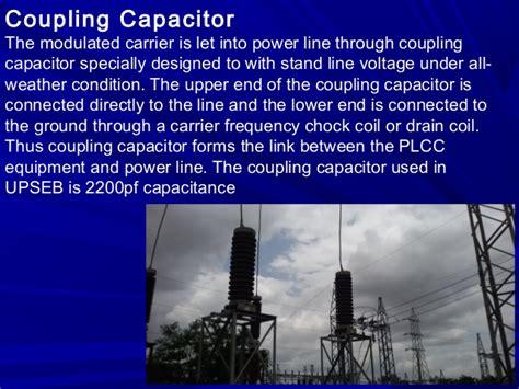 coupling capacitor and wave trap 132kv substation inplant seminar