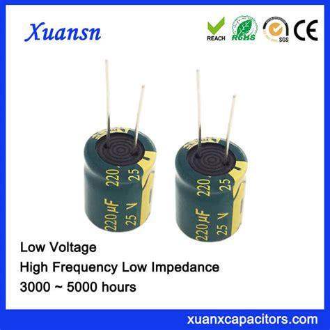 low impedance ceramic capacitor 220uf 25v aluminum electrolytic capacitor low impedance