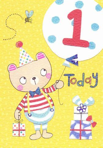 Where Can I Buy A Big Birthday Card Baby Girls First Birthday Card Karenza Paperie