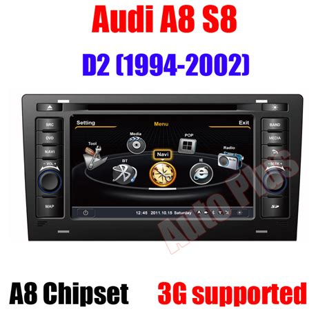 free service manuals online 2002 audi s8 navigation system car headunit gps navigation for audi a8 s8 d2 1994 2002 with cpu 1gb mhz ram 512mb 3g usb host