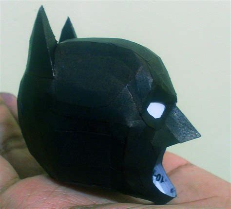 Papercraft Batman Mask - batman the papercraft progress by suraj281191
