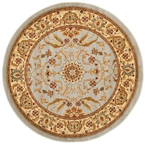 6ft Circular Rugs by Safavieh Lyndhurst Gray Beige 6 Ft X 6 Ft Area Rug
