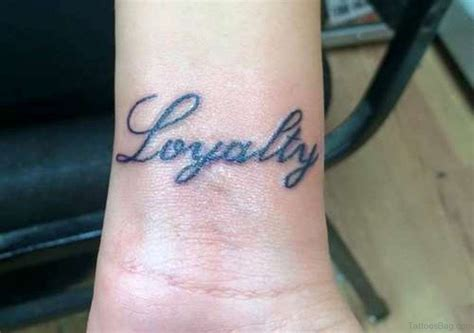 unbelievable tattoos 14 amazing loyalty wrist tattoos