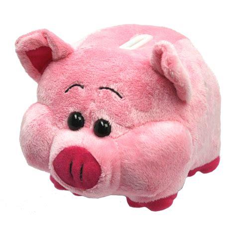 piggy bank plush piggy bank