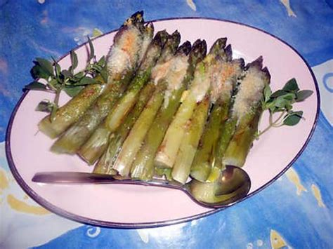 recette d asperges vertes gratin 233 es au parmesan