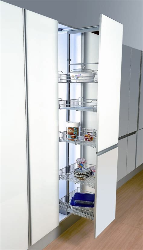 Kitchen Cabinet System Furniture Adorable Pull Out Pantry Cabinet Design Ideas Homelena