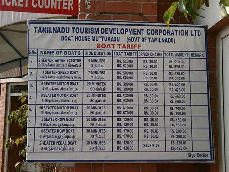 Tamilnadu Tourism Muttukadu Boat House