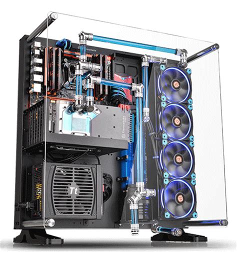 pc gestell thermaltake p5 atx wall mount chassis newegg