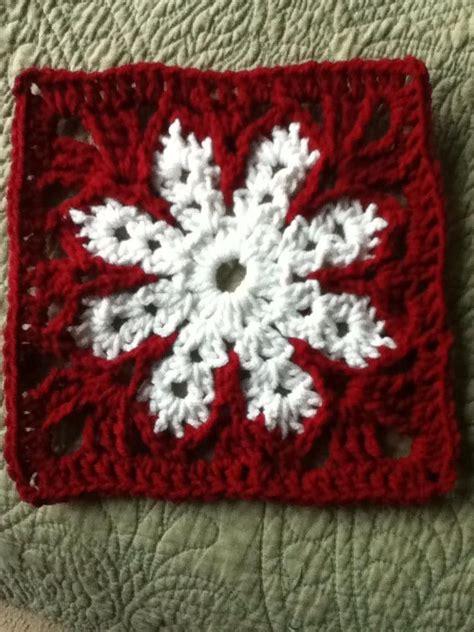 pattern for snowflake granny square snowflake granny square granny squares pinterest