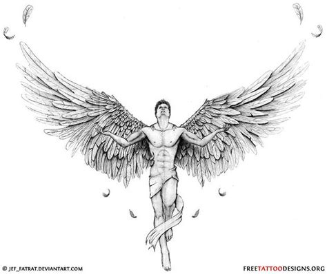 male angel tattoos designs 25 best ideas about designs on