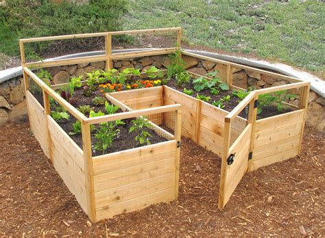 Raised Garden Bed Kit grow your favorite fruits and veggies at home with these