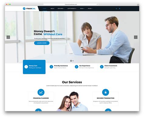 wordpress themes computer consulting 20 best business consulting wordpress themes 2018 colorlib
