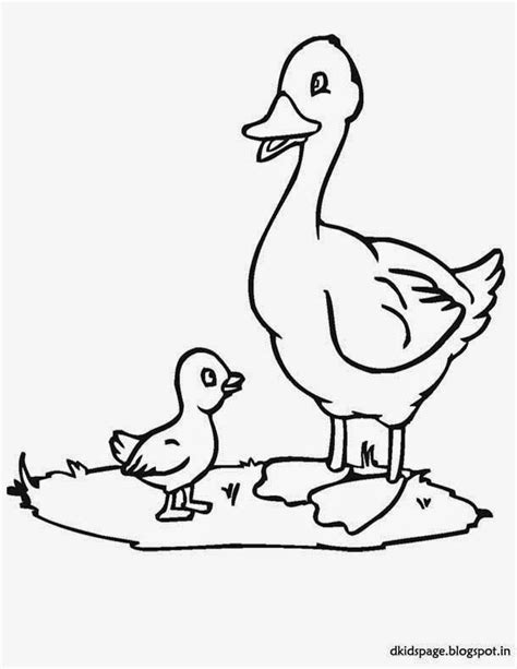 duck outline coloring page rubber duck outline coloring home
