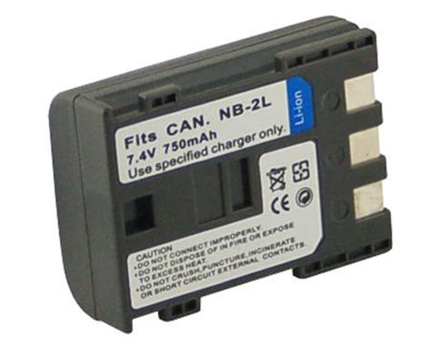 new nb 4l 5l 6l bp511 replacement battery for canon camera