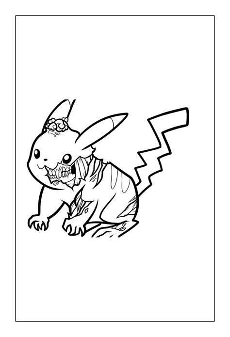 pikachu coloring pages coloringrocks