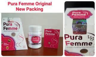 Suplemen Pura Femme pura femme suplemen pengencang dan pembesar payudara