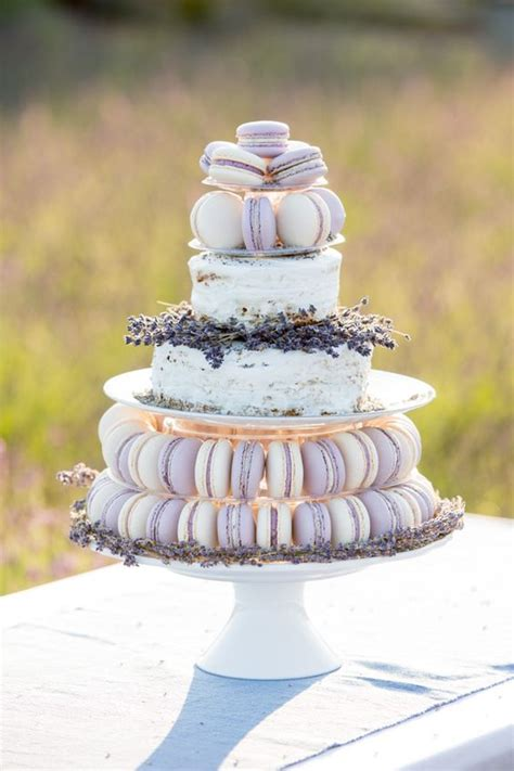 Hochzeitstorte Lavendel by Wedding Macarons 30 Ways To Dazzle Your Guests