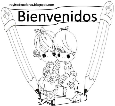 dibujos para cartel rayito de colores carteles de bienvenidos a clases
