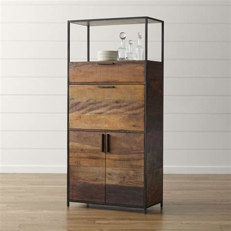 crate and barrel wine cabinet clive bar cabinet crate and barrel
