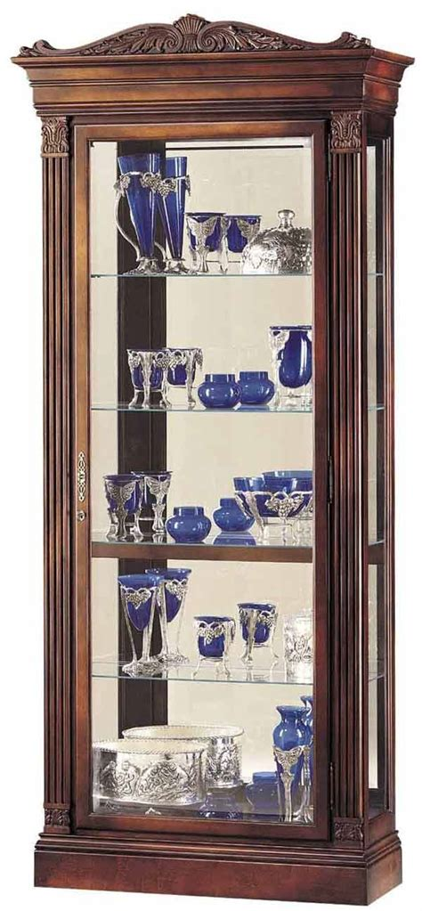 howard miller collector cabinet howard miller 680 243 embassy cherry collectors cabinet