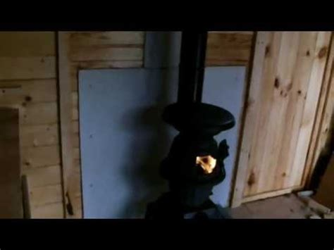 Wood Stove For Shed by Install A Cabin Shed Wood Stove Our Garden Chalet