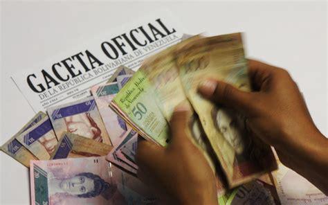venezuela sueldo actual 2016 el aumento salarial abre el debate entre la empresa