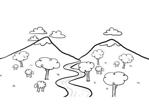 imagenes para pintar un paisaje como dibujar un paisaje natural imagui