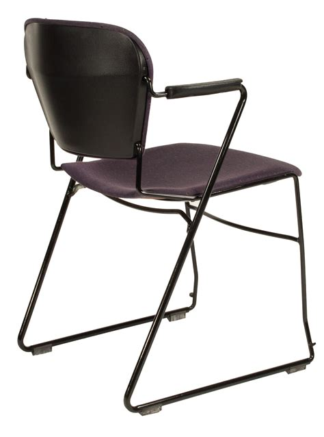 Perry Chair by Ki Perry Used Stack Chair Purple Design National Office