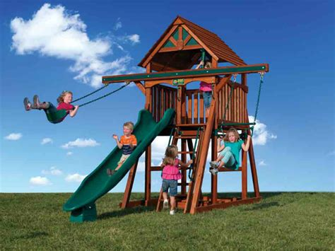 backyard adventures treehouse 35 off on backyard adventures playsets wooden swing co