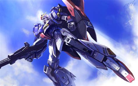 Kaos Oceanseven Gundam Mobile Suit 26 30 safebooru beam rifle clouds energy gun gundam mecha no humans shield sky tanqexe weapon zeta