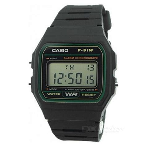 Casio F 91w 3d casio f 91w 3dg reloj digital deporte de los hombres