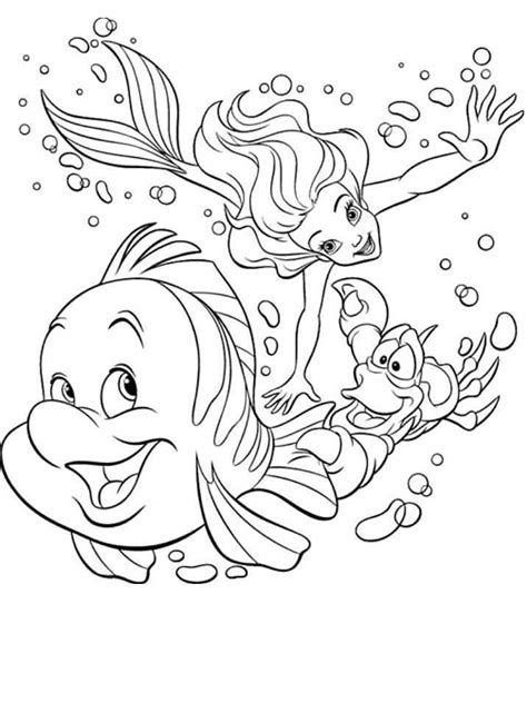 free coloring pages disney ariel free coloring pages of baby ariel