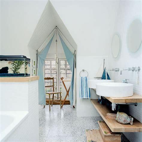 Nautical Bathroom Decor » Home Design 2017
