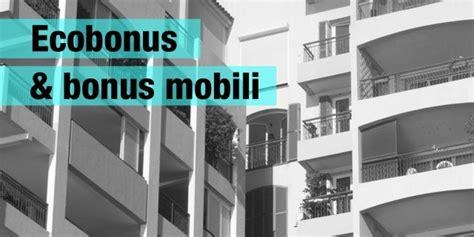 mobili agevolazioni fiscali ecobonus bonus mobili e ristrutturazione tutto sulle
