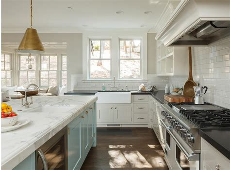 light grey cabinets in kitchen kitchen with light grey perimeter cabinets transitional