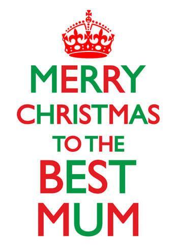 merry christmas    mum funny christmas card   dean morris cards