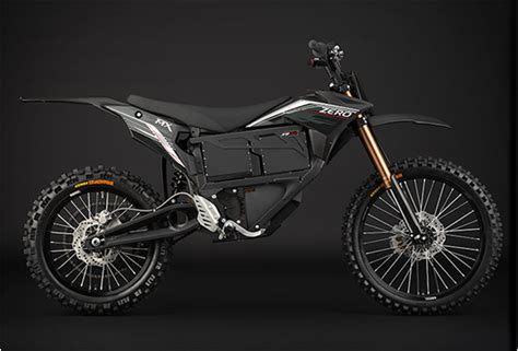 black motocross bike zero mx electric dirtbike