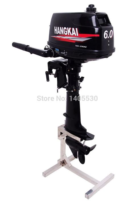 inflatable boat outboard hangkai 6hp 2 stroke fishing boat outboard engines